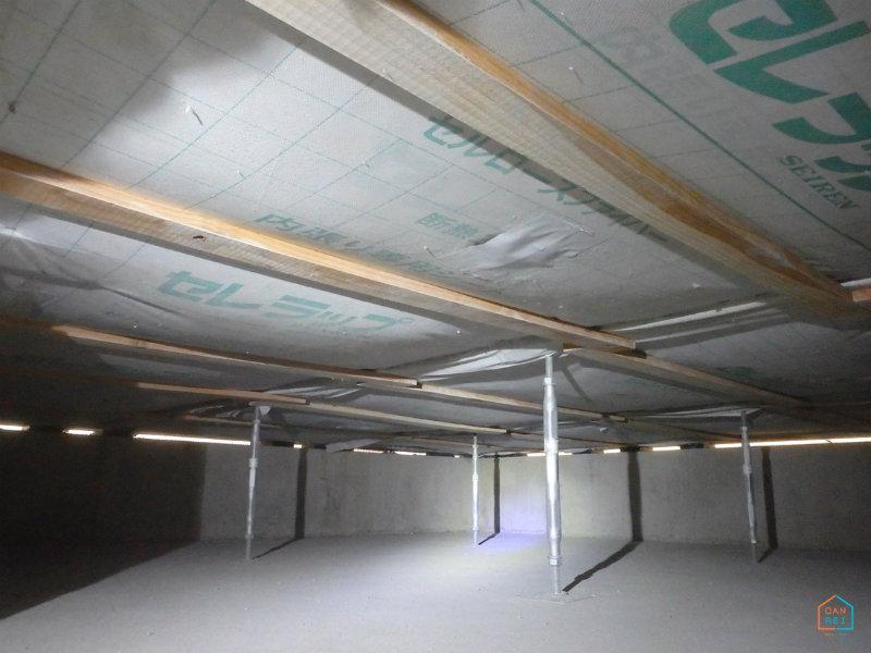 施工後の床下