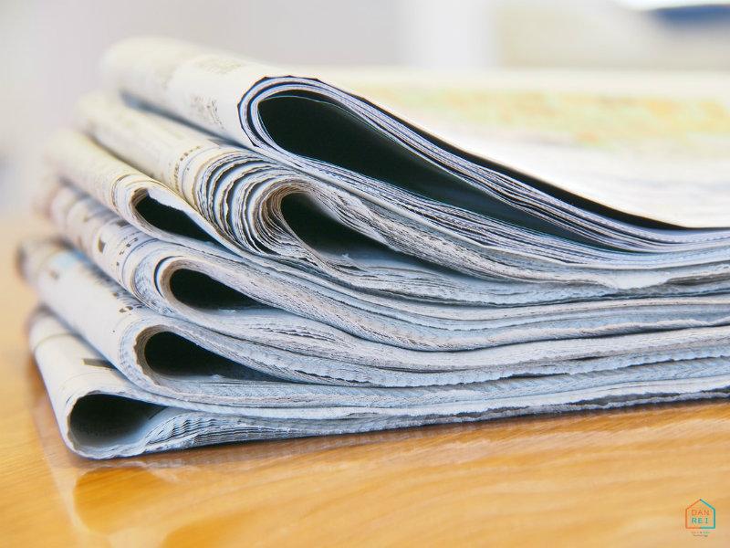 新聞紙を細かくした断熱材