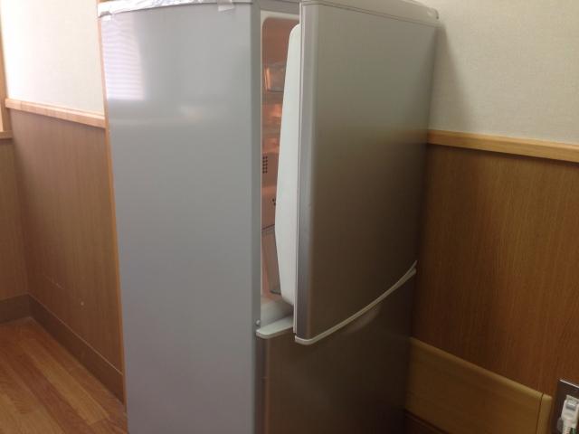 冷蔵庫の開けっ放し