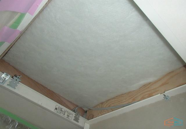 天井点検口の断熱