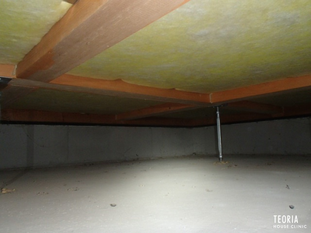 施工が難しい床下の断熱材